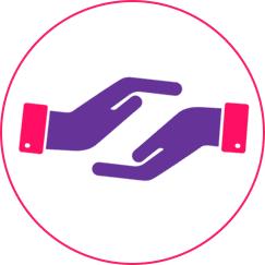 Bottone ``Assistenza clienti``